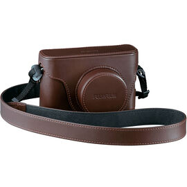 Fuji LC-X100S Leather Case - Brown