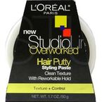 L'Oreal Studio Line Overworked Hair Putty Styling Paste - 50g