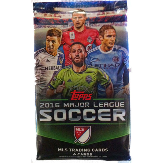 Major League Soccer Trading Cards - 2016 Booster Clamshell