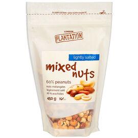 London Plantation Mixed Nuts - Light Salt - 450g