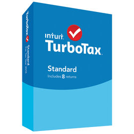 Intuit TurboTax Standard for Tax Year 2015 - 8 Returns