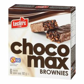 LeClerc Chocomax Brownies - 192g/6 pack