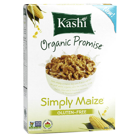 Kashi Organic Promise Cereal - Simply Maize - 297g