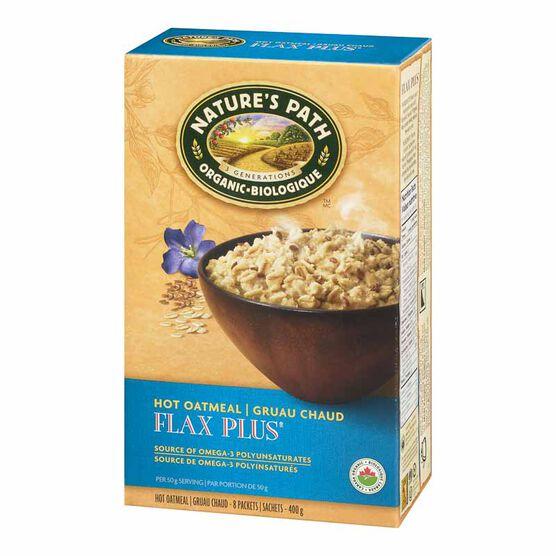 Nature S Path Instant Hot Oatmeal Flax N Oats 400g