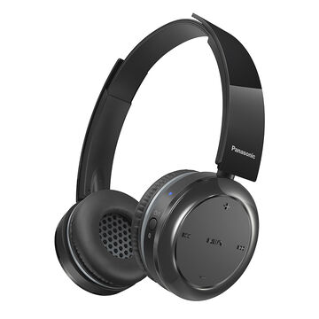 Panasonic Bluetooth Over-Ear Headphones - Black - RPBTD5K