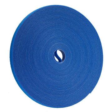 Certified Data 1/2-inch Velcro Wrap - 75 feet - Blue