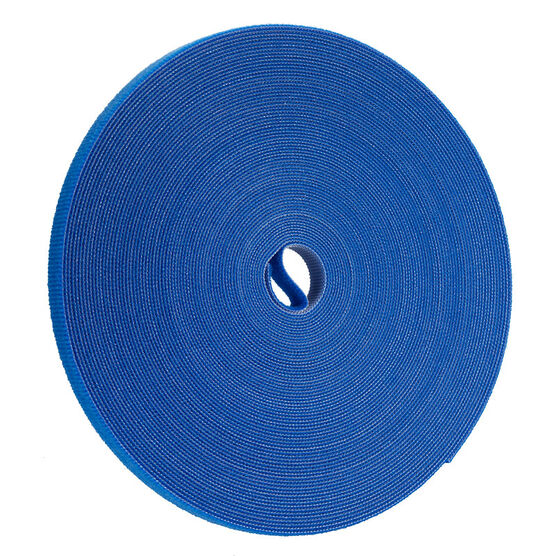 Certified Data 1/2-inch Velcro Wrap - 75 feet - Blue