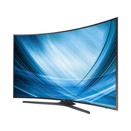"Samsung 55"" Curved UHD HDR TV - UN55KU6490FXZC"