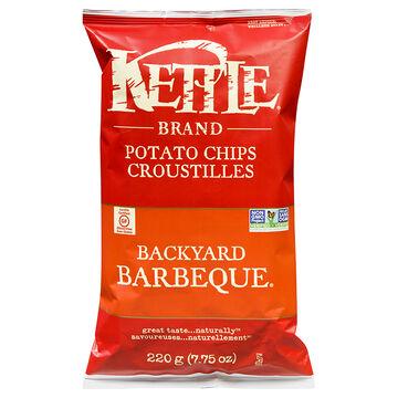 Kettle Brand Potato Chips - Backyard Barbecue - 220g