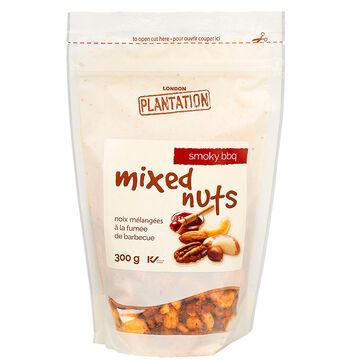 London Plantation Deluxe Mixed Nuts - Smoky BBQ - 300g