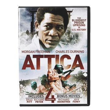 Attica - Plus 4 Bonus Movies - DVD