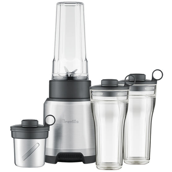 Breville Boss To Go Plus Blender - Silver - BPB625BAL