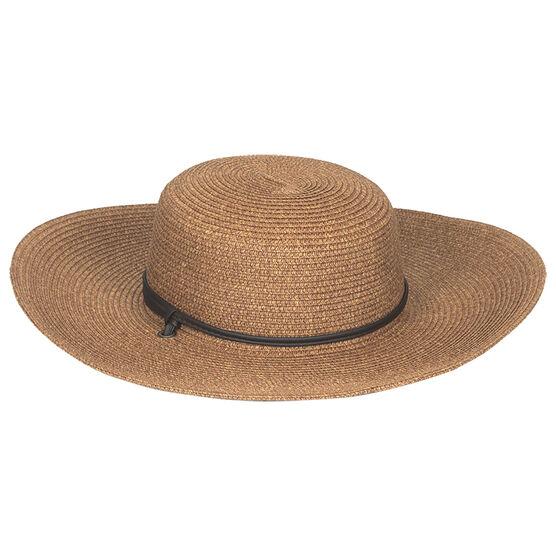 Sloggers Wide Braided Hat - Dark Brown