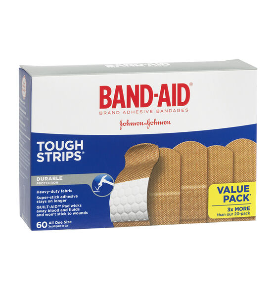 Johnson & Johnson Band-Aid Tough Strips - 60's