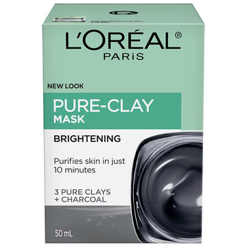 L'Oreal Skin Expert Pure-Clay Mask - Energizing & Brightening - 50ml