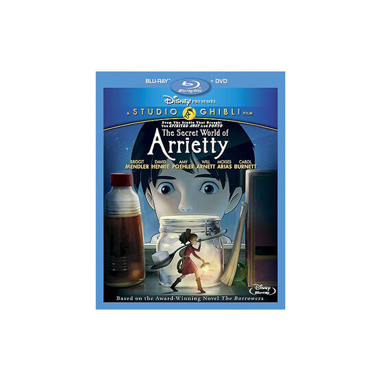 The Secret World Of Arrietty - Blu-ray + DVD