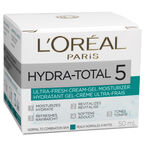 L'Oreal Hydra-Total 5 Ultra-Fresh Cream-Gel Moisturizer - 50ml