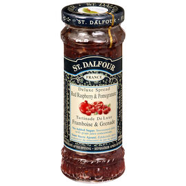 St. Dalfour Fruit Spread - Raspberry and Pomegranate - 225ml