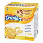 Want-Want Crinkles Rice Chips - Cheese - 115g