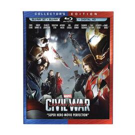 Captain America: Civil War - 3D Blu-ray