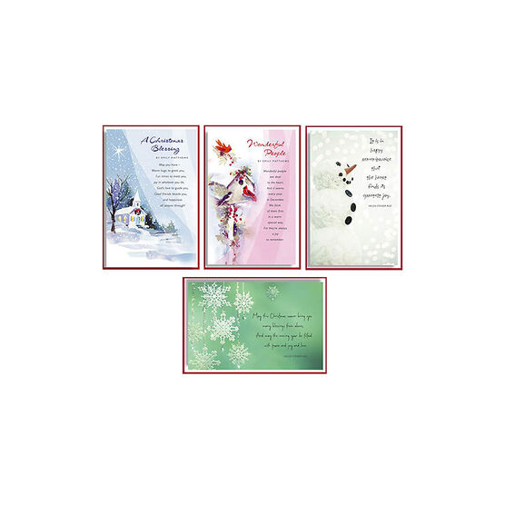 American Greetings Deluxe Christmas Cards - Religious Greeting  -  14 count - Assorted