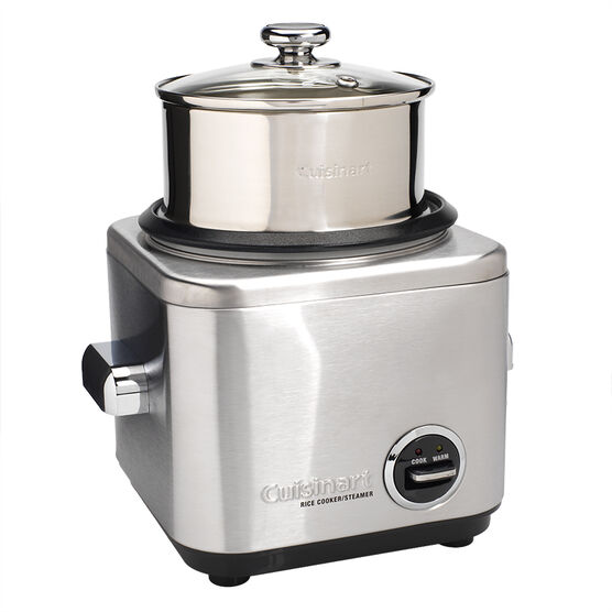 Cuisinart 7-Cup Stainless Steel Rice Cooker - CRC-400C