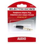Electrohome Stereo Mini Jack 1/4-inch Plug - ELS534