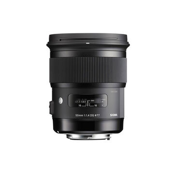 Sigma Art 50mm F1.4 DG Lens for Canon - A50DGHC