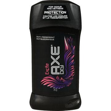 Axe Dry Anti-Perspirant Stick - Excite - 76g