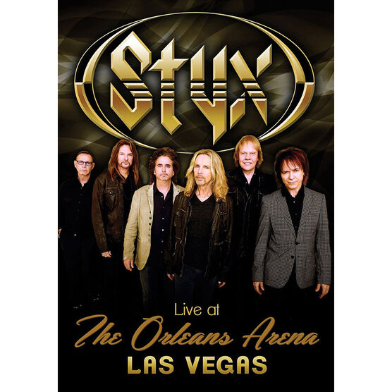 Styx - Life at The Orleans Arena, Las Vegas - DVD