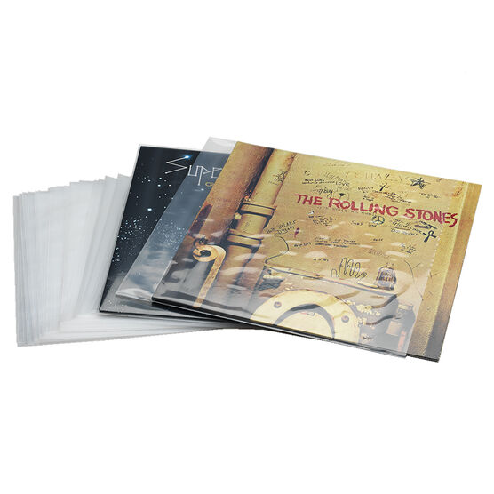 Outer Vinyl Sleeves - Pack of 100
