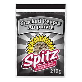 Spitz Sunflower Seeds - Crack Pepper - 210g