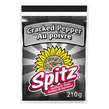 Spitz Sunflower Seeds - Crack Pepper - 210g