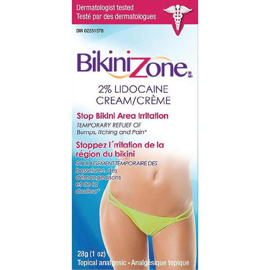 Bikini Zone Medicated Cream - 28g