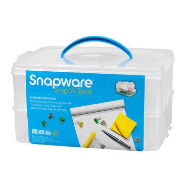 Snapware Snap 'N Stack Portable Organizer - 2 tier
