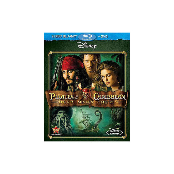 Pirates Of The Caribbean: Dead Man's Chest - Blu-ray + DVD