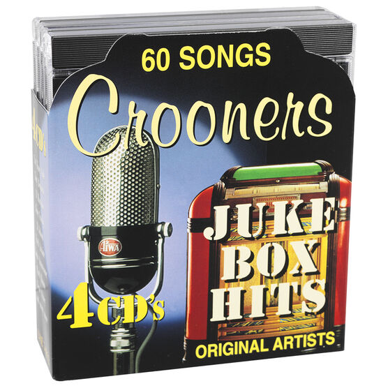 Various Artists - Crooners Juke Box Hits - 4 CD