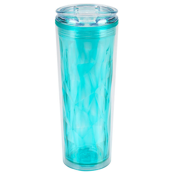 London Drugs Double Wall Tumbler - Blue - 20oz