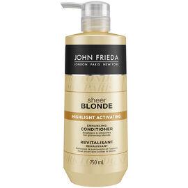 John Frieda Sheer Blonde Highlight Activating Conditioner - 750ml