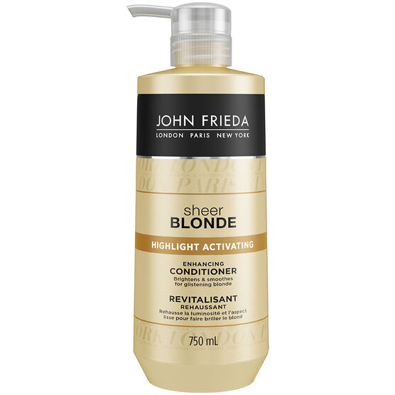 John Frieda Sheer Blonde Highlight Activating Conditioner - 750ml