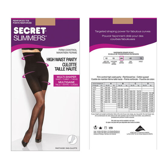 Secret Slimmers Firm Control - D - Neutral