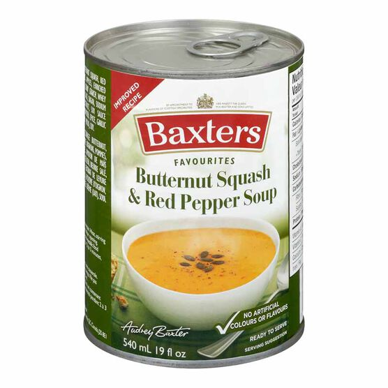 Baxter's Soup - Butternut Squash & Red Pepper - 540ml