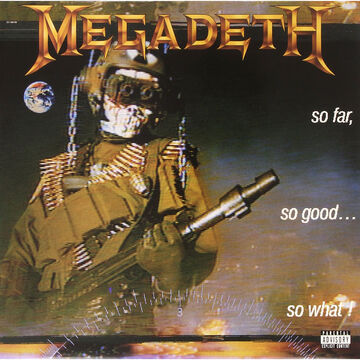 Megadeth - So Far So Good… So What (Limited Edition) - Vinyl