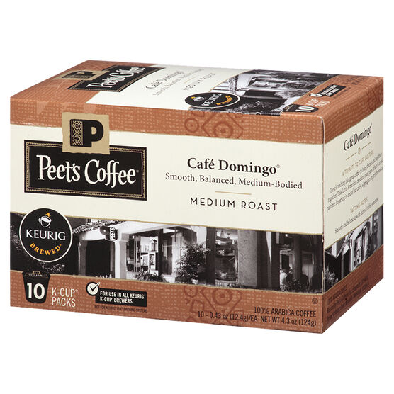 Peet's Coffee Pods - Café Domingo - 10 servings