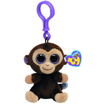 Ty Beanie Boos Clip - Coconut the Monkey