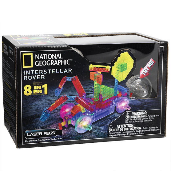 Laser Pegs National Geographic Interstellar Rover