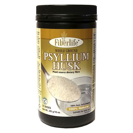 Fiberlife Psyllium Husk - Whole Ground - 285g