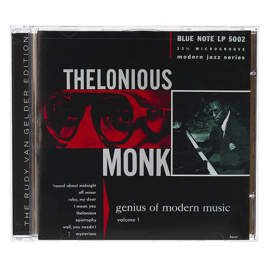 Thelonious Monk - Genius of Modern Music: Volume 1 - CD