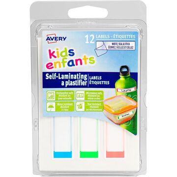 Avery Self-Laminating Labels for Kids' Gear - 12s - 41708