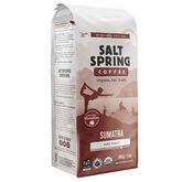 Salt Spring Organic Whole Bean Coffee - Sumatra - 400g